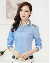 Buy New 2015 Spring Autumn Femininas Blusas Women Tops Clothes Business Work Wear Blouses Formal Shirt Spring Autumn Clothing for $19.53 in AliExpress store