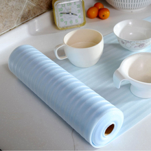 30*500CM/PC(1 Roll) Kitchen Drawer Mat Shelf Cabinet Storage Pad Antibacterial Table Mat Cup Pad