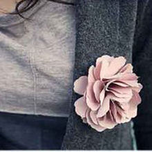 Fashion New Chic Multipurpose Lady Girl Peony Flower Hair Clip Hairpin Brooch Hair Accessories For Woman