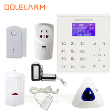 QOLELARM English/Spanish/French Menu 20CH Home Automation WIFI GSM GPRS Security Smart Home Alarm Systems Anti-theft new product