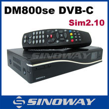 DM800hd se Cable receiver media player dm 800hd se sim 2.10 Rev D11 Version dm800se receiver Sunray dm800 se DVB-C tuner(China)