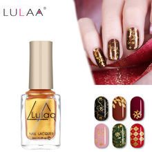 Buy LULAA 6ml Stamping Nail Polish 12 Colors Stamp Nail DIY Stamping Nail Lacquer Christmas Nail Art Painting Printing Varnish for $1.17 in AliExpress store
