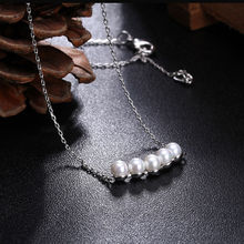 Brand Jewelry Queen Style 2017 Temperament Necklace Women With Elegant Imitation Pearl Necklace Fashion Jewellery Kolye AN075