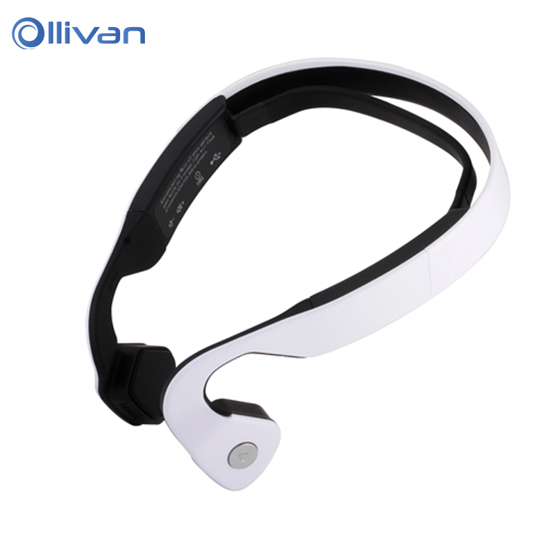 Ollivan LY88 Bluetooth Headset Bone Conduction Headphone Wireless Ergonomic Noise Isolating Stereo Sports Earphone for Phones<br>