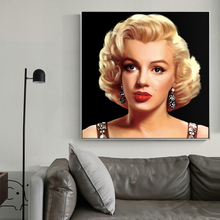 Nordic Style Morden Canvas Painting Sexy Marilyn Monroe Art Posters And Prints Fashion Home Decor Wall Pictures For Living Room(China)
