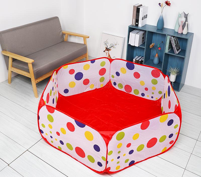 Ballx Pool with Basket Children Toy Ocean Ball Pit Baby Playpen Tent Outdoor Toys for Children Ballenbak 2