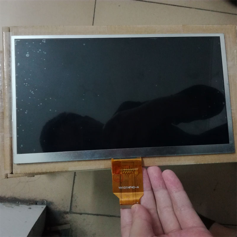 Replacement 10.1 inch 1024x600 40PIN LCD screen for Tablet PC LCD number YH101HF40-A internal display screen<br>