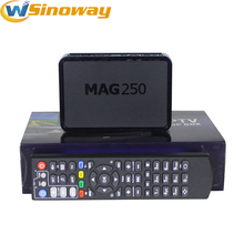 Arabic Iptv Set Top Box Mag 250 Same as Mag254 Linux System Streaming box MAG250 With Europe IPTV France QHDTV Netherlands IP TV(China)