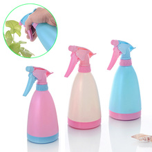 Multi-function Candy Color Watering Cans Bonsai Hand Pressure Sprayer Spray Bottle Water Gardening Tool Pot  J2Y