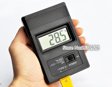 TM-902C (-50C to 750C) Digital LCD K Type Temperature Detector Thermometer Single Input + Thermocouple Probe