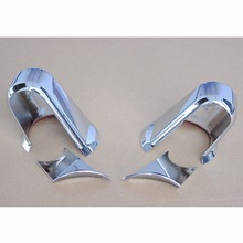 ABS Chrome Plated Side Mirror Arm Covers Trim For Jeep Wrangler JK 07 08 09 10 11 12 13 14 2015  [QPA210]
