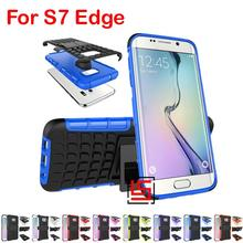 Cheap Armor Rugged Hybrid Hard PC TPU ShockProof Phone Case Cover For Samsung Galaxy Galaksi S7 Edge SM G935F G935 SM-G935(China)
