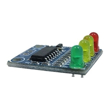 BIFI-XD-82B 12V battery 4 section electricity indicator module board load 4 digit electricity indication LED lamp(China)