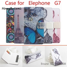 Buy Hongbaiwei 5 Styles Fashion Painted Elephone G7 Flip Case Cover PU Leather Luxury Protective Case Elephone G7 Phone Stand C for $5.98 in AliExpress store