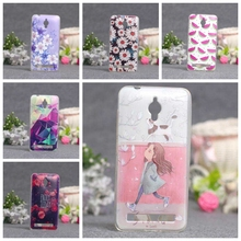 Luxury 3D Silicone Case for Asus Zenfone Go ZC500TG Soft Cover Case Housing Painted for Asus ZC ZC500 500 500TG TG Phone Covers