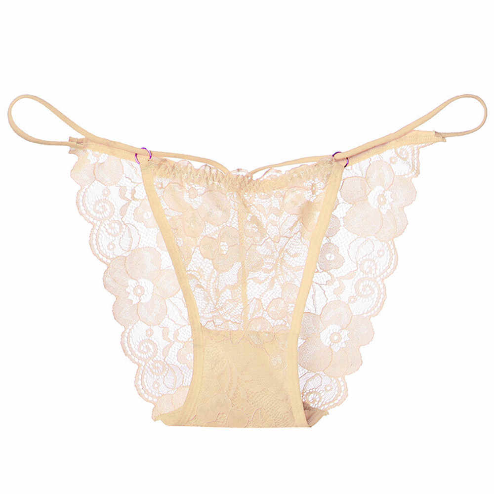1181dc0911 Baoaili Women s Lace Lingerie Knickers Lace G-string Soft Thongs  Transparent Panties Seamless Underwear Mujer
