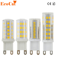 ECOCAT LED g9 bulb 220v bombillas 3W 5W 7W 9W 12W light replace 30W 50W 60W halogen lamp for Chandelier(China)