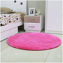 Free Shipping Anti-slip Multi Colors 80 - 160cm 3.5cm Thicken Big Round Floor Carpets For Living Room Bathroom Circle Mat Rug