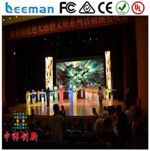Leeman DIY Indoor P6 Full color RGB led screen P5 P6 advertising SMD video P6 indoor led stage wall display 1/16 scan