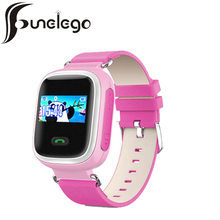 Funelego New Kid Smart Watches With SIM SOS Cartoon Children GPS Call Location Track Wrist Cell Phone Q80 Child Smart Baby Watch