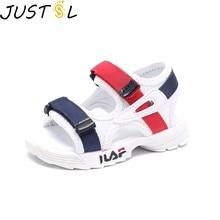 Baby comfortable sandals 2018 summer new boy girls beach shoes kids casual  sandals children fashion sport e0de82d21a4b