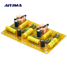 Aiyima 2Pcs Updated New Multi Speaker 3 Unit Audio Frequency Divider 3 Way Crossover Filters(China)