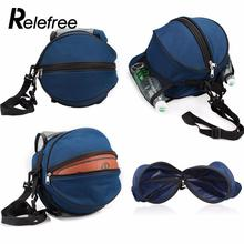 Relefree Outdoor Shoulder Soccer Ball Bags Nylon Sporting Carry Football kits Volleyball Basketball Bag Training Equipment
