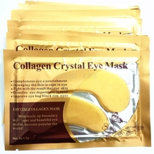 Free Shipping 5Pair Gold Eye Mask Patches Collagen Anti-Wrinkle Remove Dark Circles Moisturize(China)