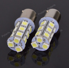 1Pcs High Quality P21W 1156 BA15S 5050 SMD 18 LED Car Auto RV Tail Brake Turn Signals Parking Lights Lamp Bulb DC12V 18LED