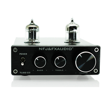 Buy Feixiang FX-AUDIO TUBE-03 Bile 6J1 Preamp Tube Amplifier Buffer HIFI Audio Preamplifier Treble Bass Adjustment+Power Supply 12V for $49.99 in AliExpress store