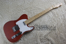 Free shipping Top Quality Lower Price Red color Guitars Telecaster Electric Guitar in stock   @23