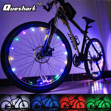 1pcs 20 LED Colorful Shining Waterproof Bicycle Lights Bike Wheel Spoke Lights Night Cycling Safety Bicicleta Bisiklet Aksesuar