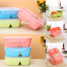 3 Color Silicone Collapsible Lunch Container Portable Folding Food Storage Containers(China)