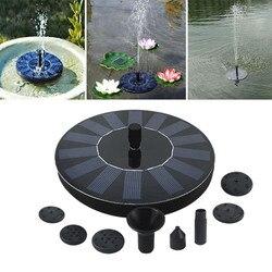 7 в Набор для полива фонтана на солнечной батарее, погружной водопады, Плавающий Солнечный фонтан для сада