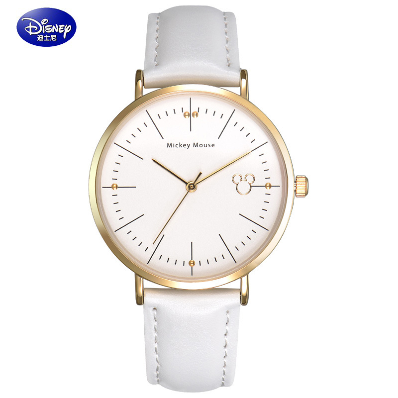 2017 Disney Fashion Women Watch 3Colors Brand Clock Leather Bangle Watch Quartz Simple Casual Relojes Female Mickey WristWatch<br><br>Aliexpress