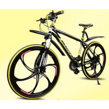 L260114 /26 inches/21 speed/ Mountain Bike/magnesium alloy the one body wheel/anti-skid handle/outdoor Ride/oil dish/