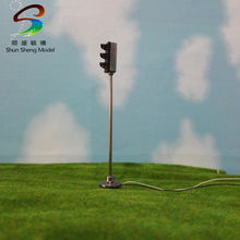6CM model traffic signal lights construction sand table model material road lights LED traffic lights Model(China)