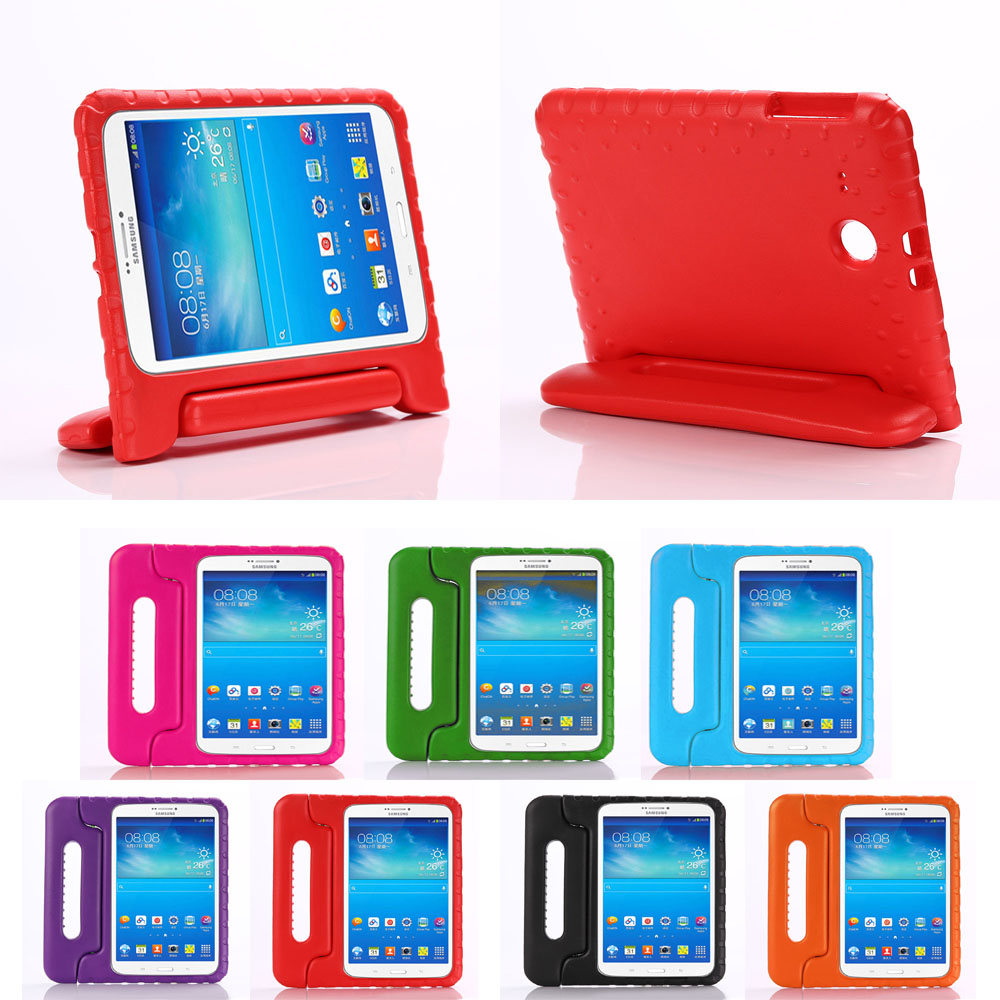 2017Hot For Samsung Galaxy Tab E 9.6 T560 T561 Tablet Case Kids Safe EVA Foam Shockproof Cover Shell Handle Silicon Stand Case<br><br>Aliexpress