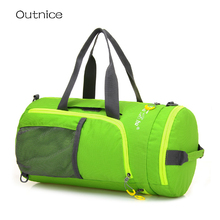 BRAND Multifunction Shoulder Bags Women Men Luggage Travel Bags Oxford Foldable Organizer Duffle Bag Weekend Bag(China)