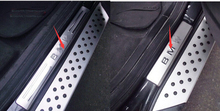 Stainless Steel Door Sill Scuff Plate 4 pcs For BMW X5 e70 2009 - 2013 / X6 E71 2010 - 2014