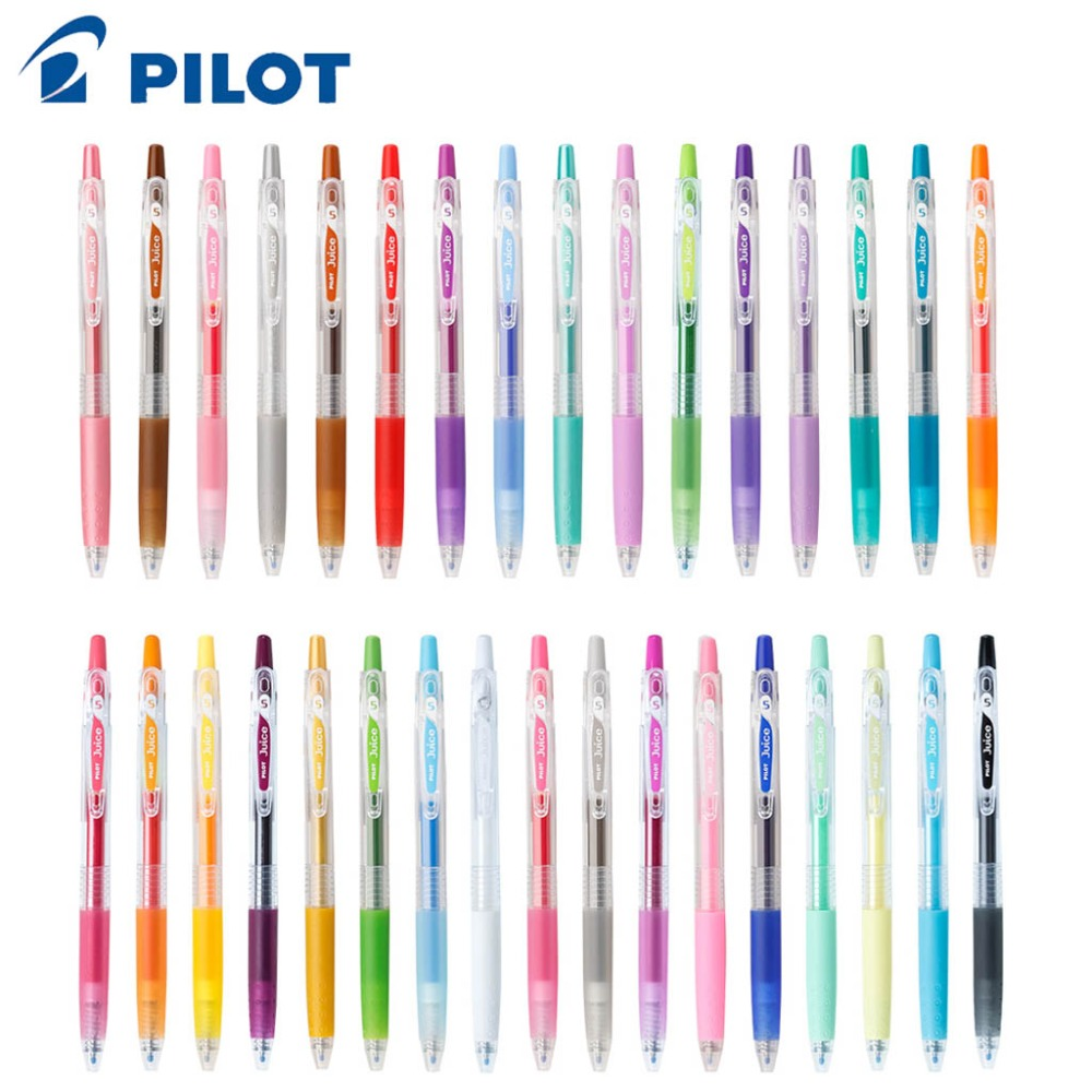2 Colors Retractable Gel Ink Pens with Grip Colored Gel Pens