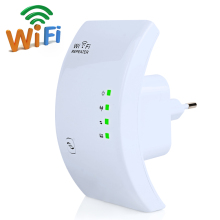 300Mbps Wifi Repeater Wireless 2.4 GHz WLAN Wifi Network Mini Wifi Router Range Expander 802.11N/B/G Signal Booster Amplifier