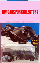 2017 New Hot 1:64 Car wheels black BATMOBILE car Models Metal Diecast Car Collection Kids Toys Vehicle Juguetes(China)
