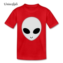 Alien Baby T Shirts 2017 Fashion Summer Short Sleeve O Neck Kids T-shirt Youth Clothes Top Printed Boy Girl Tshirt Cheap Price