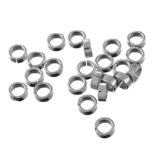Buy LASPERAL 50PCs 7mm Stainless Steel Open Jump Ring Flat Wire Accessories Jewelry DIY Findings Components DIY Hand Made Craft for $1.41 in AliExpress store