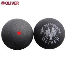 2017 5 pcs Natural Rubber Oliver Rubber Squash Ball Red Point Blue Point Squash Balls Sports Training Equipment For Beginners