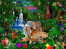 Home Decoration 5D Needlework Diamond embroidery Diy diamond Painting tiger picture Cross Stitch embroidery diamonds patchwork