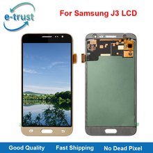 e-trust Made in China LCD For Samsung Galaxy J3 2016 J320FN J320A J320P J320Y Can Not Adjust Brightness Digitizer Replacement