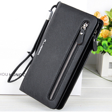 New Designer Leather Wallets Women Brand Red Zipper Long Coin Purses Money Bags Credit Card Holders Clutch Phone Wallets Female