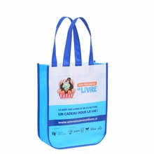 Free Shipping Custom Laminated Mini PP Non Woven Gift Promotion Bag with Logo Wholesale
